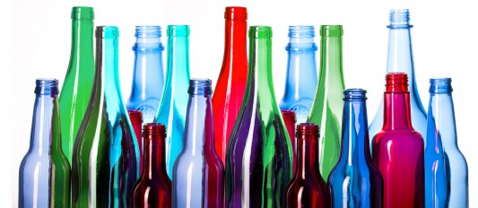 bouteilles verre